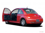 2007 Volkswagen New Beetle Coupe 2-door Auto Open Doors