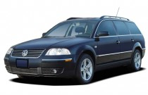 2004 Volkswagen Passat Wagon 4-door Wagon GLX V6 Auto Angular Front Exterior View