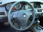 2005 BMW 5-Series 530i 4-door Sedan Steering Wheel