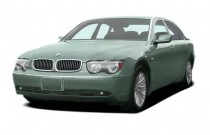 2005 BMW 7-Series 745Li 4-door Sedan Angular Front Exterior View