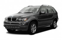 2005 BMW X5-Series X5 4-door AWD 3.0i Angular Front Exterior View