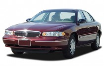 2005 Buick Century 4-door Sedan Custom Angular Front Exterior View