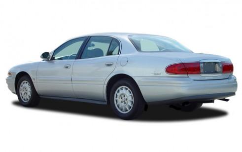 2005 Buick LeSabre 4-door Sedan Custom Angular Rear Exterior View