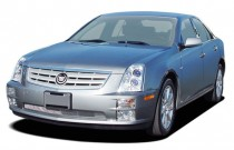 2005 Cadillac STS 4-door Sedan V8 Angular Front Exterior View