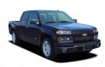 "2005 Chevrolet Colorado Crew Cab 126.0"" WB 1SJ LS ZQ8 Angular Front Exterior View"