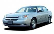 2005 Chevrolet Malibu 4-door Sedan LT Angular Front Exterior View