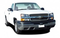 "2005 Chevrolet Silverado 1500 Reg Cab 133.0"" WB Work Truck Angular Front Exterior View"