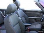 2005 Chrysler PT Cruiser 2-door Convertible Touring Front Seats