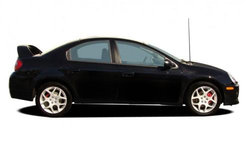 2005 Dodge Neon 4-door Sedan SRT4 Side Exterior View