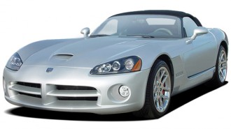 2005 Dodge Viper 2-door Convertible SRT10 Angular Front Exterior View