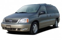 2005 Ford Freestar 4-door Limited Angular Front Exterior View