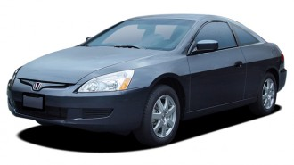2005 Honda Accord Coupe EX AT Angular Front Exterior View