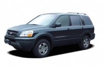 2005 Honda Pilot EX AT Angular Front Exterior View