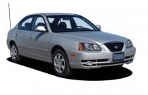 2005 Hyundai Elantra 4-door Sedan GLS Auto Angular Front Exterior View