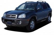 2005 Hyundai Santa Fe 4-door LX 4WD 3.5L Auto Angular Front Exterior View
