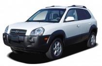 2005 Hyundai Tucson 4-door GLS FWD 2.7L V6 Auto Angular Front Exterior View