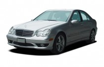 2005 Mercedes-Benz C Class 4-door Sedan 3.2L Angular Front Exterior View