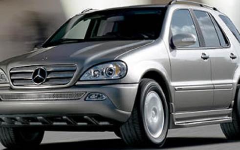 2005 Mercedes Benz M Class 3.7L