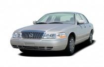 2005 Mercury Grand Marquis 4-door Sedan GS Convenience Angular Front Exterior View