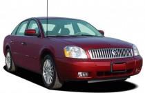 2005 Mercury Montego 4-door Sedan 2WD Premier Angular Front Exterior View