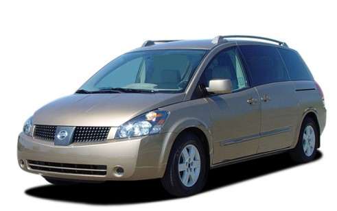2005 Nissan Quest 4 Door Van SL Angular Front Exterior View