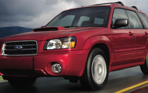 2005 Subaru Forester (Natl) X