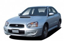 2005 Subaru Impreza Sedan (Natl) 2.0 WRX Manual Angular Front Exterior View