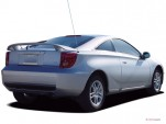 2005 Toyota Celica 3dr LB GT Manual (Natl) Angular Rear Exterior View