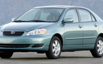 Toyota recalling 135K Matrix, Corolla models for faulty airbags
