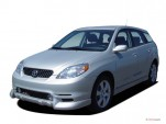 2005 Toyota Matrix 5dr Wagon XRS 6-Spd Manual (Natl) Angular Front Exterior View