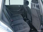 2005 Volkswagen Jetta Wagon 4-door GLS Auto Rear Seats