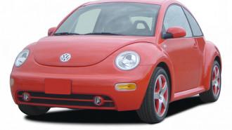2005 Volkswagen New Beetle Coupe 2-door GLS Auto Angular Front Exterior View