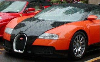 Today's Heinous Car Pics: 2006 Bugatti Veyron, Halloween Edition