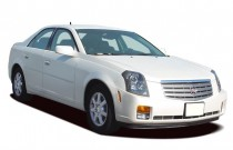 2006 Cadillac CTS 4-door Sedan 3.6L Angular Front Exterior View