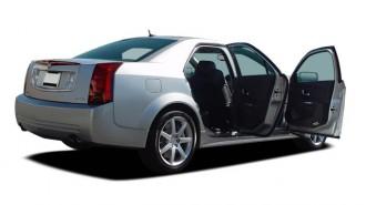 2006 Cadillac CTS-V 4-door Sedan Open Doors