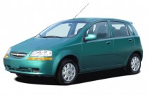 2006 Chevrolet Aveo 5dr Wagon LS Angular Front Exterior View