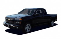 """2006 Chevrolet Colorado Ext Cab 125.9"""" WB 2WD Work Truck Angular Front Exterior View"""