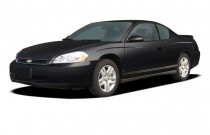 2006 Chevrolet Monte Carlo 2-door Coupe LT 3.9L Angular Front Exterior View