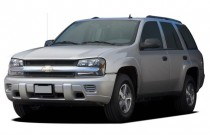 2006 Chevrolet TrailBlazer 4-door 2WD LS Angular Front Exterior View