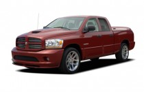 "2006 Dodge Ram SRT-10 4-door Quad Cab 140.5"" WB Angular Front Exterior View"