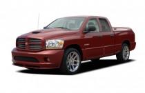 "2006 Dodge Ram SRT-10 4-door Quad Cab 140.5"" WB Angular Front Exterior View"