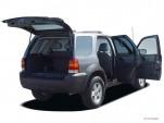 2006 Ford Escape 4-door 2.3L Hybrid Open Doors