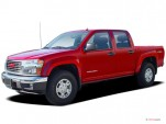 "2006 GMC Canyon Crew Cab 126.0"" WB 2WD SLE1 Angular Front Exterior View"