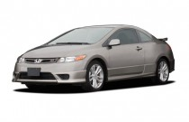 2006 Honda Civic Si Manual w/Navi Angular Front Exterior View