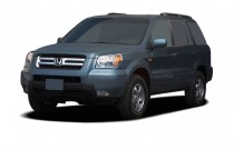 2006 Honda Pilot 4WD EX AT Angular Front Exterior View