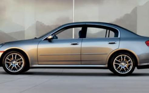 2006 infiniti g35 sedan vs bmw 3 series audi a4 lexus es subaru impreza mitsubishi lancer. Black Bedroom Furniture Sets. Home Design Ideas