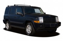 2006 Jeep Commander 4-door 2WD Angular Front Exterior View