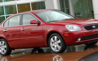 2006-2008 Kia Optima Recalled For Shift Cable Issue