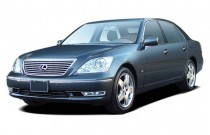 2006 Lexus LS 430 4-door Sedan Angular Front Exterior View