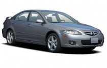 2006 Mazda MAZDA6 5dr HB Sport i Auto Angular Front Exterior View